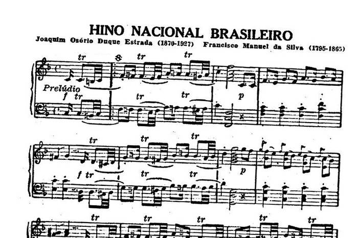 Nationalhymne Brasilien